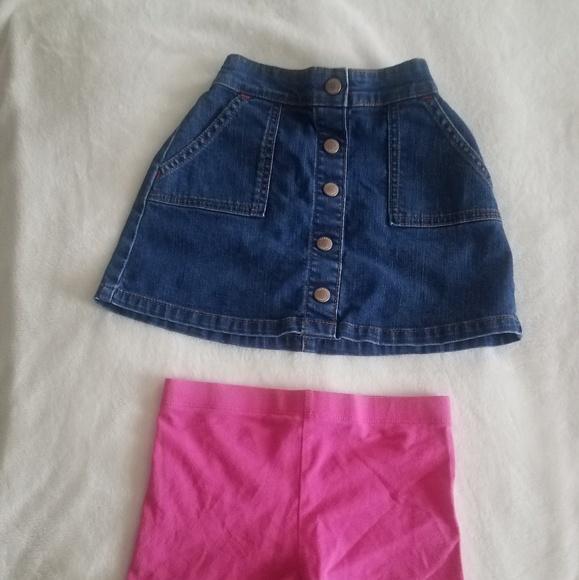 Boden Other - Girl's Lot of Boden Bottoms: Denim Skirt & Shorts